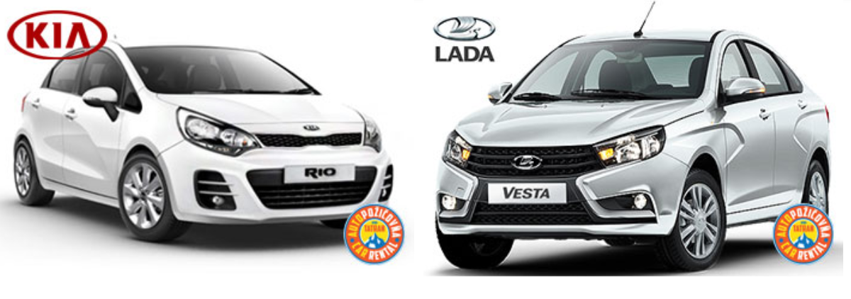 Car rental Poprad Kia Lada