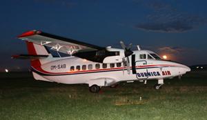 Tandemove seskoky letadlo L 410 turbolet AN 2