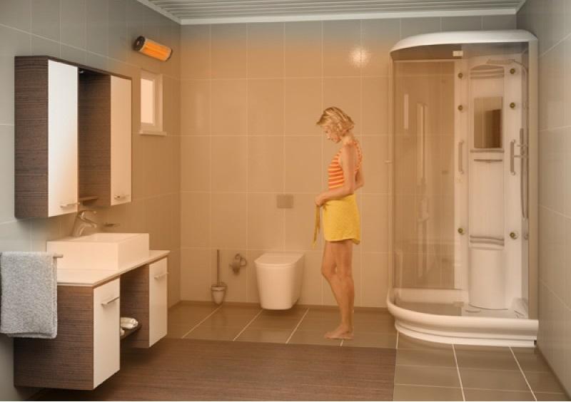 koupelna infracervene topeni